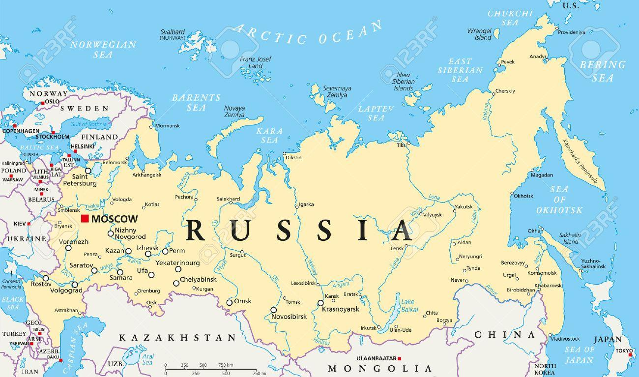 Cartina Siberia Russia.Ibu Rusia Peta Rusia Modal Peta Eropah Timur Eropa